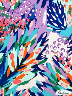 Ellie Green | Print & Pattern Designer | UK www.elliegreendesign.com https://www.instagram.com/elliegreen.design/