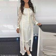 Buy best ethnic party wear long Anarkali Salwar suits / kameez dresses online shopping @ cash on delivery. Pakistani Outfits, Indian Outfits, Net Gowns Pakistani, Party Wear Indian Dresses, Eid Dresses, Indian Attire, Indian Wear, Indian Suits Punjabi, Salwar Designs