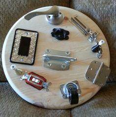 Busy Board Toy DIY