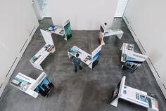 Traveling exhibit idea? Das Neue Brandenburg byBlotto Design