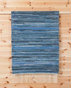 Handicraft Denim Rag Rug by Denim Demon