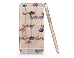 Flower Pattern Slim Iphone 6 6S Case, Clear Iphone 6 6S Hard Cover Case For Apple Iphone 6/6S -Emerishop (iphone 6) Emerishop