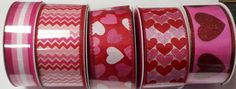 Wire Edged Valentine Ribbon  Choose Pattern by CountryCroppers, $1.40