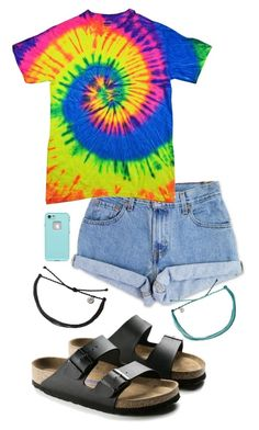"""Summaaa wya"" by allyson04 on Polyvore featuring Levi's"