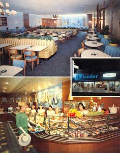 Memories with my Nana and I at the Hollander Cafeteria, Glendale, CA after a day of shopping at the Broadway!