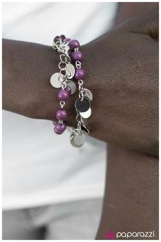 The Dream Team - purple bracelet