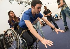 Re-righting wheelchair technology developed by Imperial students.  Video demonstrates how their technology works.