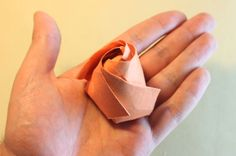 How to Fold a Paper Rose
