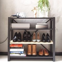 Sick of all those shoes cluttering up your entryway? Lundia has a solution for that!