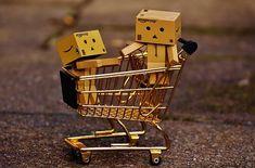 Danbo, Figures, Shopping Cart