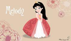 Disney Princess Young ~ Melody by miss-lollyx-33.deviantart.com on @DeviantArt