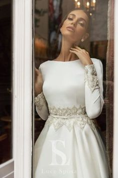 Luce Sposa 2020 Fall Bridal Collection – The FashionBrides Conservative Wedding Dress, Muslim Wedding Dresses, Bohemian Wedding Dresses, Prom Dresses, Famous Wedding Dresses, Bridal Gowns, Wedding Gowns, Queen Wedding Dress, Moroccan Dress