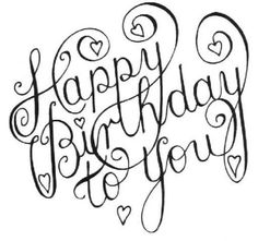 happy birthday black and white happy birthday greetings lechezz