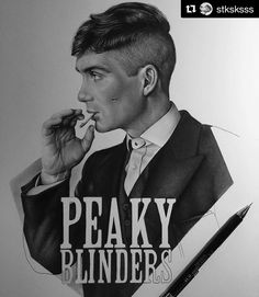 Tommy Shelby Peaky Blinders Netflix, Peaky Blinders Thomas, Cillian Murphy Peaky Blinders, Pen Sketch, Sketches, Peaky Blinders Wallpaper, Steven Knight, 4k Wallpaper For Mobile, Don Juan