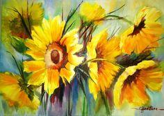Resultado de imagen para cecilia hewstone art Watercolor Flowers, Paintings, Ideas, Tela, Exotic Flowers, Illustrations, Artists, Watercolor Painting, Paint