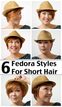 6 Short Hair Hat Tricks