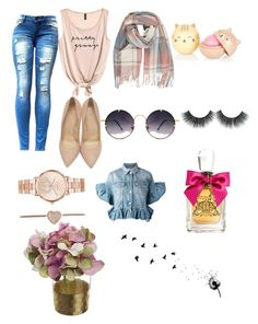 """Sem título #9"" by carinagoiata on Polyvore featuring Charlotte Olympia, Spitfire, Michael Kors, MSGM e Juicy Couture"