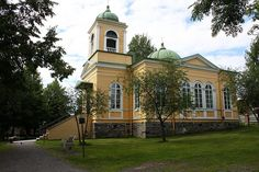 Savonlinna, Finland. small church by viima, via Flickr Grave Monuments, Graveyards, Cathedrals, Summer 2015, Denmark, Norway, Travelling, To Go, Mansions