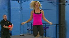 Fun Trampoline work-out routine. (VIDEO)