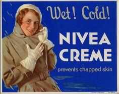 NIVEA Retroanzeige - 1930. #nivea #retro