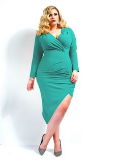 """Jenna"" Asymmetrical Draped Dress -Jade - Clothing - Monif C"