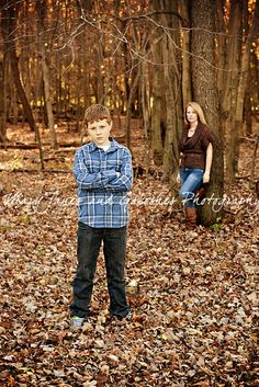 Autumn Mother Son Leaves Trees Mother Son Pictures Mother Daughter