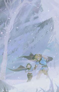 The Legend Of Zelda, Legend Of Zelda Breath, Zelda Wallpaper, Zelda Drawing, Image Zelda, Pretty Drawings, Breath Of The Wild, Game Art, Fantasy Art