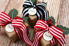 eighteen25: Christmas Gift Wrapping Ideas