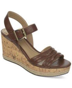 Life Stride Elsa Platform Wedge Sandals   macys.com