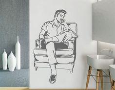 . Vinilo para la decoración de espacios de interior Elvis Presley 04507