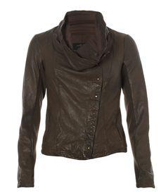Kaito Leather Jacket, Women, Best Sellers, AllSaints Spitalfields