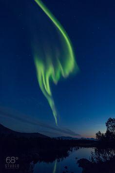 """One """"Cosmic Finger""""  Forfjord/Vesterålen  ©68°STUDIO-Robert NOVAK Photography"""