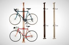 I love this!  I'm going to have to buy one of these bike racks!  :)