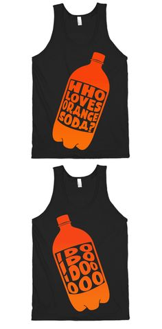 Relive 90s television shows in glorious nostalgia vision with your best friend and eat a good burger in one of these Orange Soda designs.