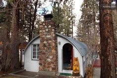 Quonset hut house. So cute.