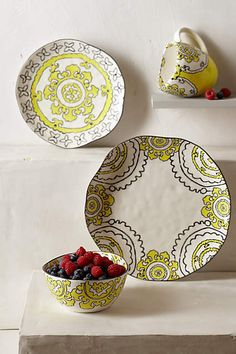 Gloriosa Side Plate - anthropologie.com