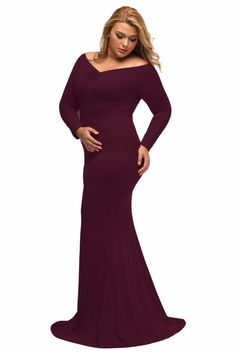f598f435d43 2019 New Autumn 2016 Women Plus Size Dress Off Shoulder V Neck Long Sleeve Plus  Long Maxi Dress For Big Girl Vestidos LC61381 From Art decoration