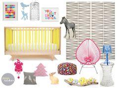 Nursery Design Baby Girl