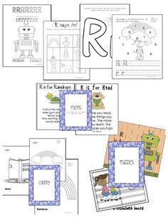 Letter R Activities for Preschool and Kindergarten