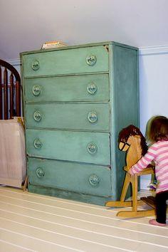 DIY distressed dresser