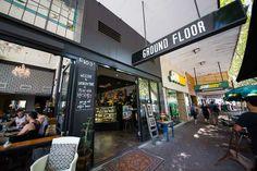 Ground Floor Cafe, Newcastle Mall, NSW Australia #coffee #cafe #travel