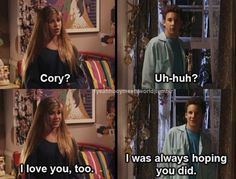 20 Ways Cory And Topanga Gave You Unrealistic Expectations About Relationships- ugh I miss this show! Riley Matthews, Cory Matthews, Boy Meets World Quotes, Girl Meets World, Tv Show Quotes, Movie Quotes, Quotes Quotes, Cory And Topanga, The Lone Ranger