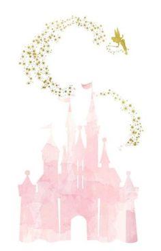 Disney Love, Disney Magic, Disney Art, Disney Phone Wallpaper, Iphone Wallpaper, Disney Vacations, Disney Trips, Disney Background, Watercolor Disney