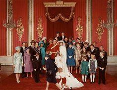 Wedding of Princess Ann;