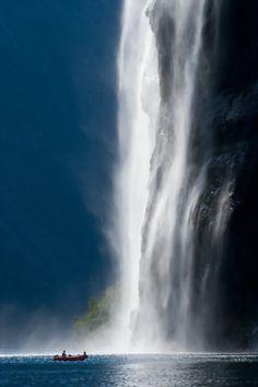 Geirangerfjord Norway Waterfall