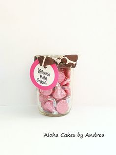 Giraffe Party / Baby Shower Favors Mason Jar Favor by AlohaCakesbyAndrea, $16.00