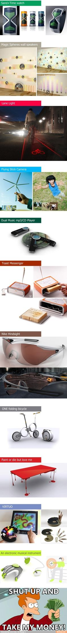 Very cool inventions