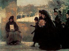 Émile Friant - La Toussaint (1886), Musée des beaux-arts de Nancy.