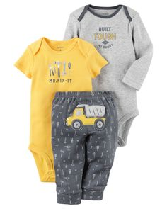 Baby Boy 3-Piece Little Character Set from Carters.com. Shop clothing & accessories from a trusted name in kids, toddlers, and baby clothes.