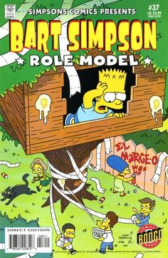 Cover for Simpsons Comics Presents Bart Simpson (2000 series) #37